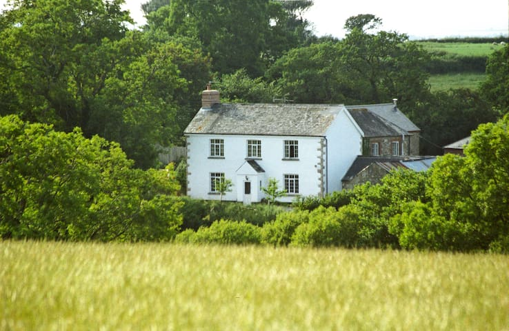Lovaton FarmHouse Bed and Breakfast - South Tawton - Penzion (B&B)