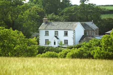 Lovaton FarmHouse Bed and Breakfast - South Tawton - Szoba reggelivel
