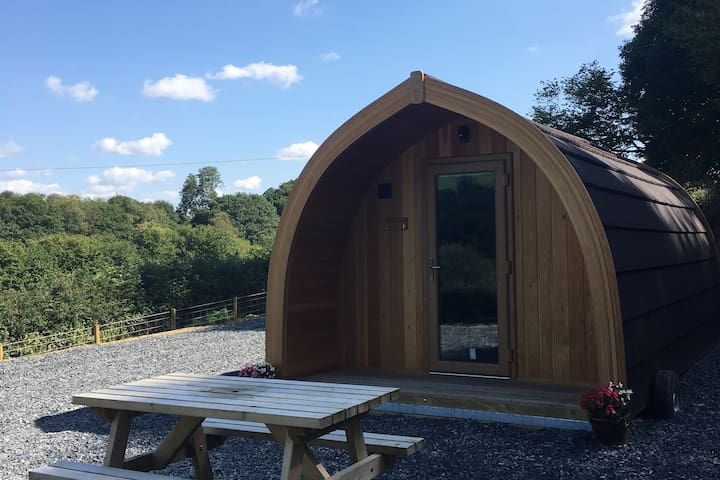 Cil y Coed Luxury Glamping Pod