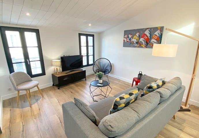 Au cœur du village : appartement confortable!