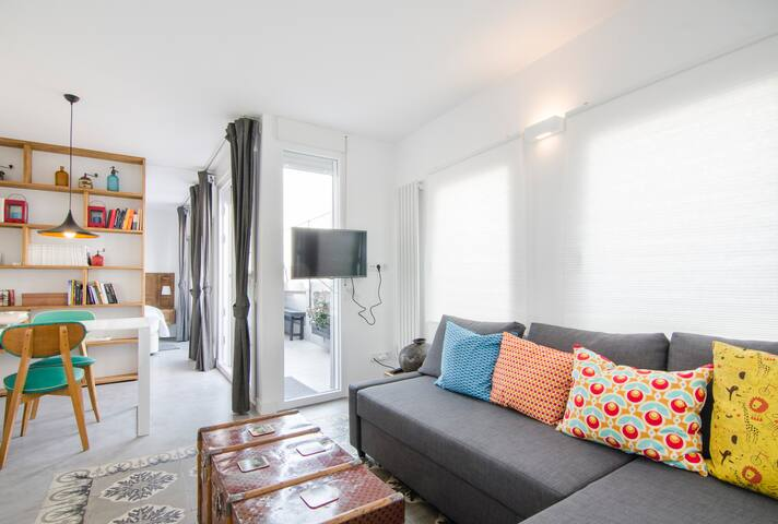 BRAND NEW WITH TERRACE 1BD - CITY CENTER