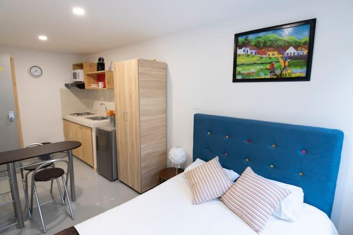 Hermoso y privado apartamento en CHAPINERO* 207