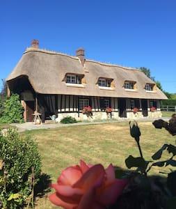Grande chaumière normande - Écaquelon - Ház