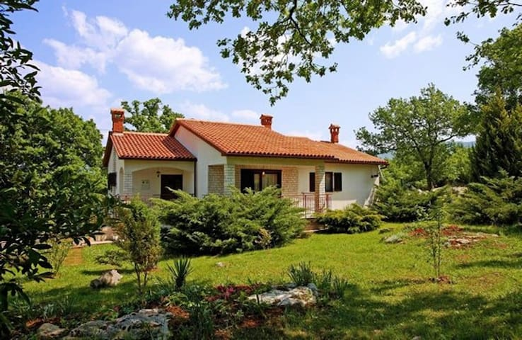 House for 5+2 persons with pool in Kršan R66738