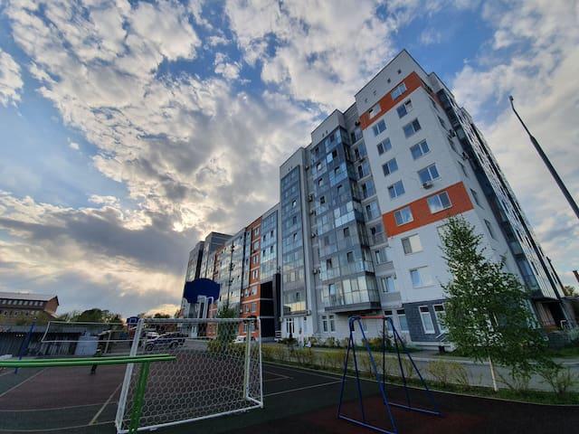 Sunny city - studio apartment, sea - 700m.