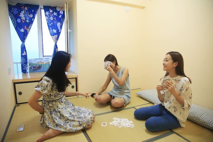 海阳碧桂园十里金滩包租婆海景公寓 - Yantai Shi - Apartament