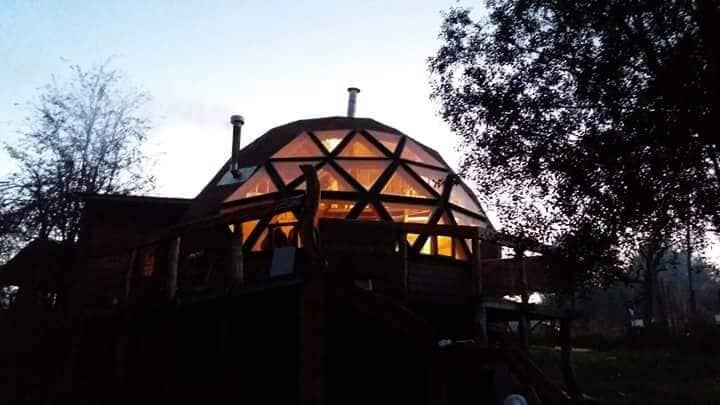 Cabaña Domo Bosque, Termas de Chillán, Recinto.