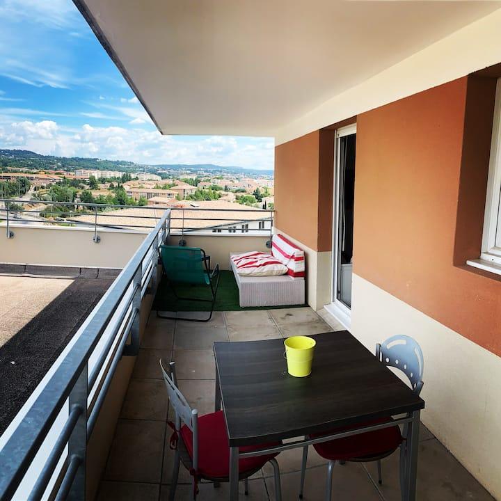 charmant appartement hotel calme à Aix en Provence