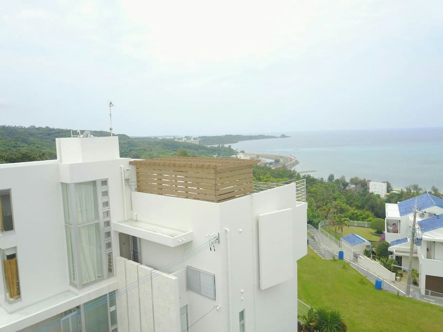 full sea view of ONNA