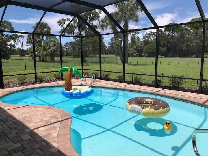 Plantation Golf Course Pool Home