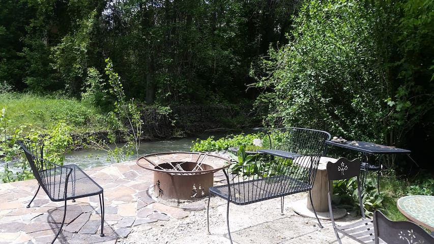 Creekside Getaway in the middle of it all!