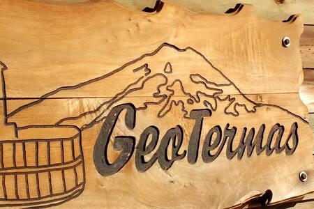 Cabaña de Geotermas Spa de montaña Antuco Chile
