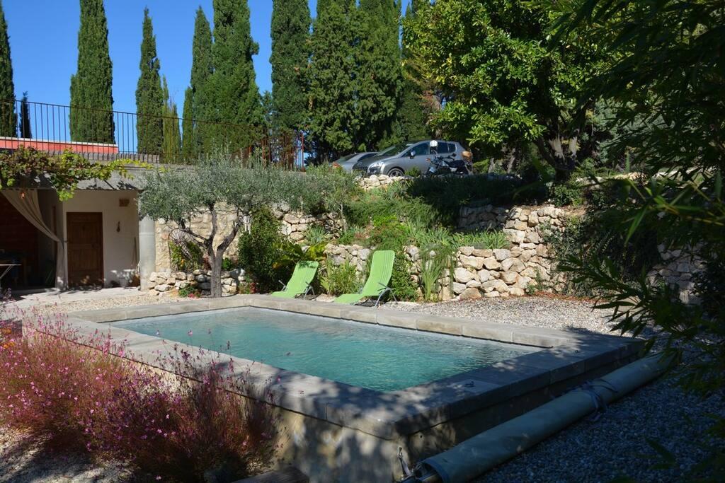 la piscine bassin margelles en pierre