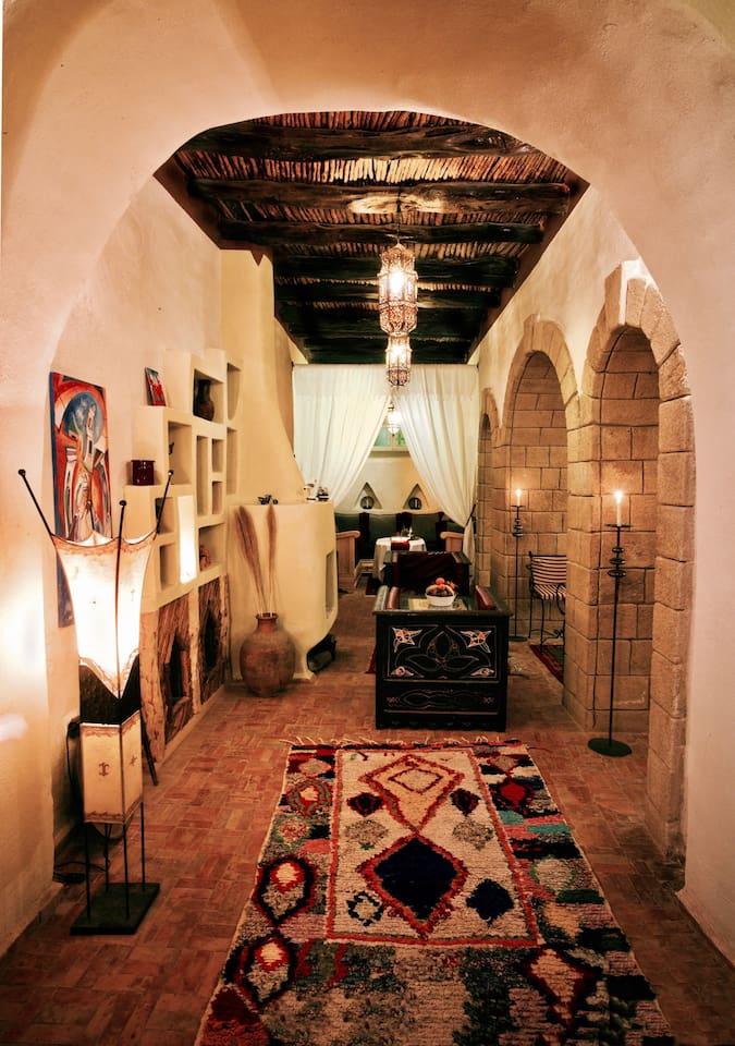 Riad Laylati - Anazra Room - 1 Bed/2 Persons