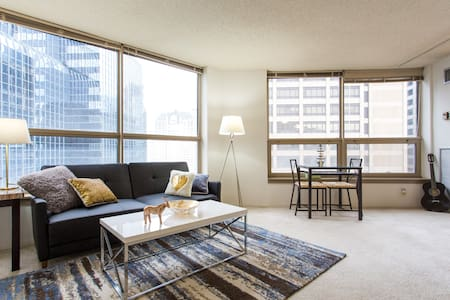 Beautiful Spacious 1 bedroom in heart of downtown - Chicago - Apartament