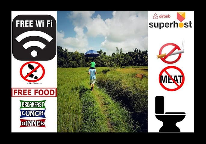 Organic Farm House All Meals WiFi & Much More... - Padu Belle