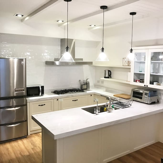 Our favorite open kitchen