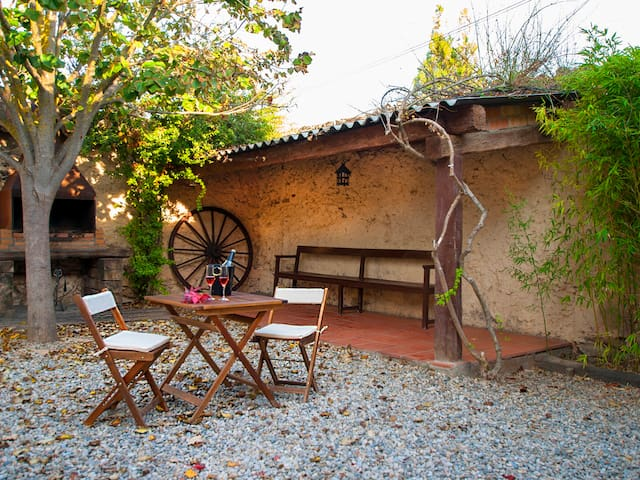 Comfortable house among vineyards - Subirats - Kondominium