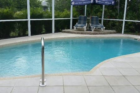 Cozy & Cool with Private Pool - Punta Gorda - 一軒家