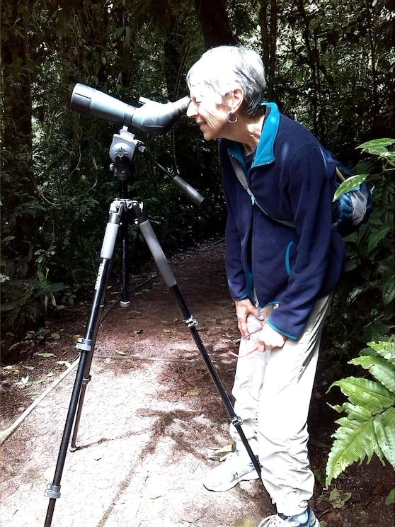 Visa foto som tillhandahållits av värden i helskärm