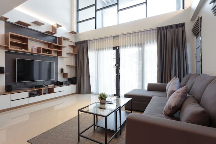 Beautiful private rooms in walking distance to MRT - Bangkok - Townhouse