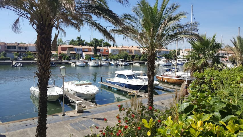 Cap d'Agde 6 Pers Terrasse Piscine Vue, situé ++++