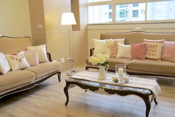 Deco101 comfy 3BR home(1min to MRT) - Xinyi District - Apartment