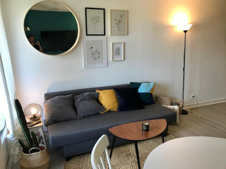 Appartment T2 50m from the beach- WiFi/ Netflix