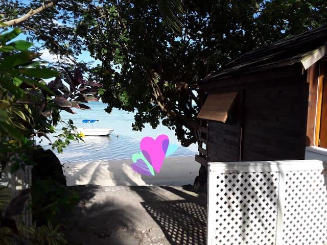 Chalet plage moorea