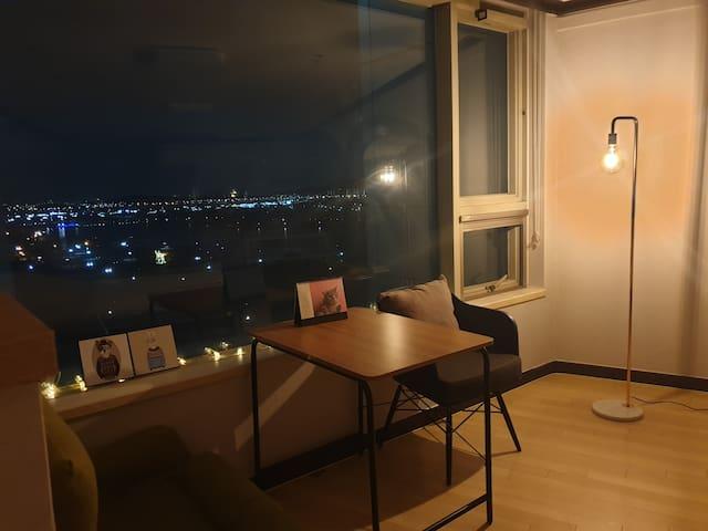 [ilsan house. no.1]호수공원뷰,26평,KINTEX,출장,스팀다리미,라페스타