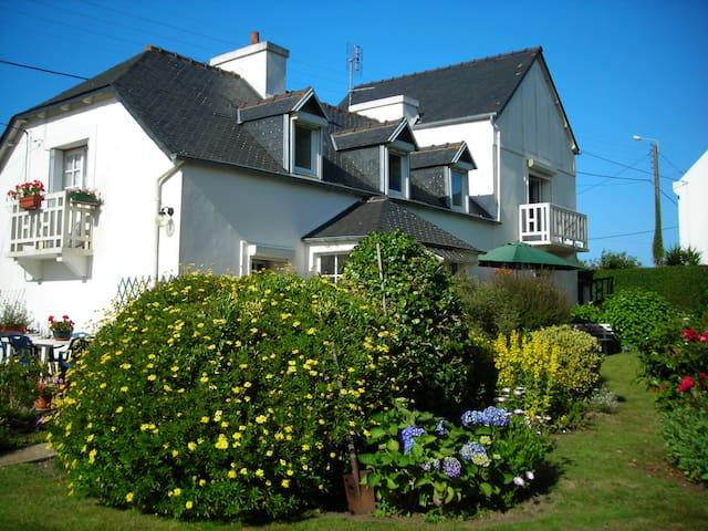 Maison de charme à Carantec (baie de Morlaix)