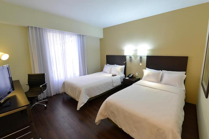 Spotless Junior Suite Double Bed At Nogales