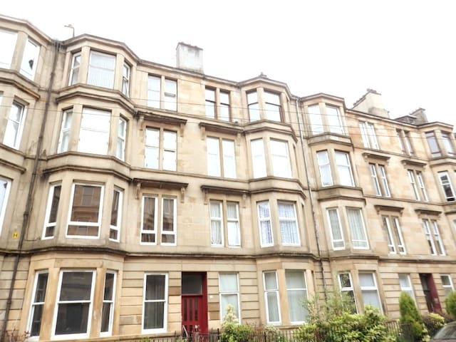 Ground Floor Flat with Private Garden