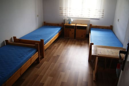 nice room in the pretty countryside - Lubkowo - Rumah