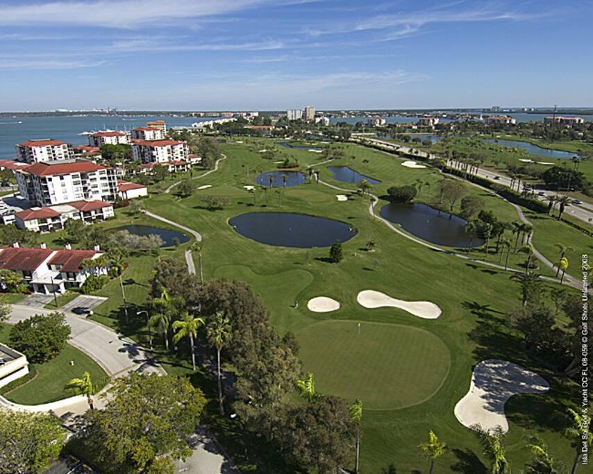 Isla Del Sol 18-hole golf course.