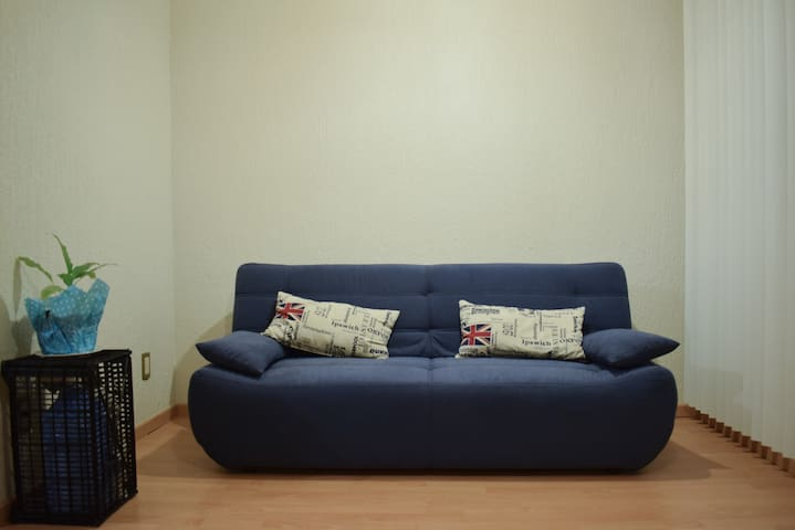 Sofa bed very well located (Reforma, Downtown)