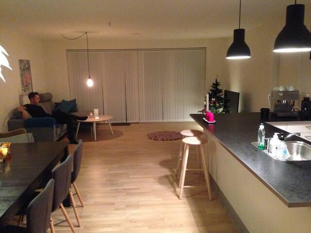 Hyggeligt rækkehus tæt på Aarhus C. - Viby