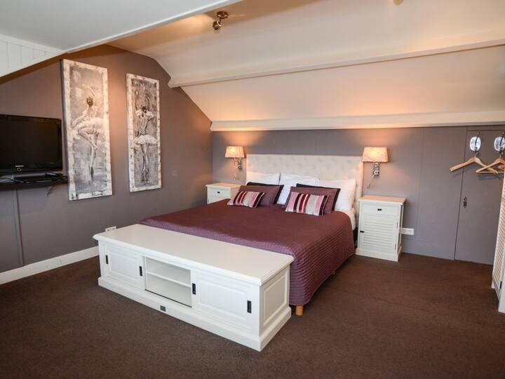 Luxe kamer met badkamer in De Koog