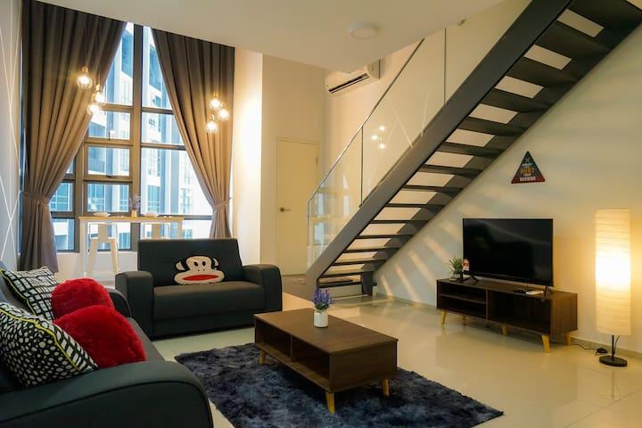 Modern Loft Design by De LUX @ EkoCheras, KL