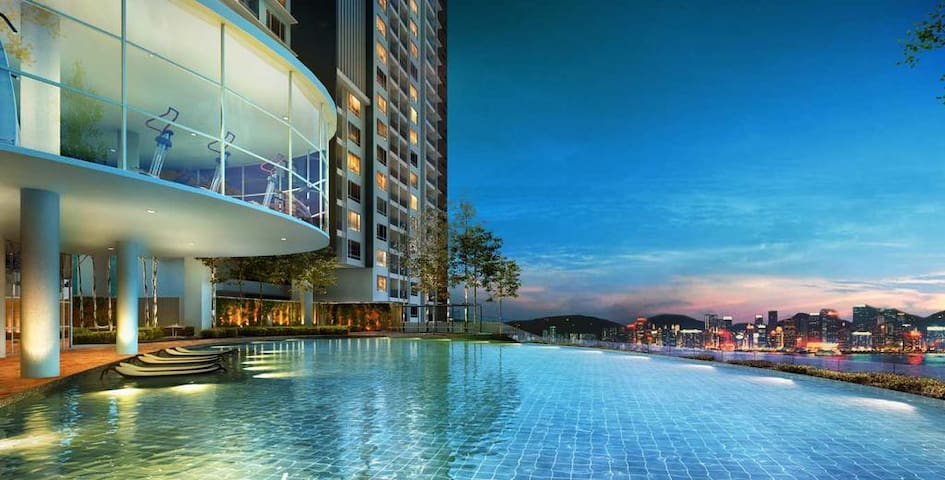 Woodsbury Family Suites 7722 @ butterworth, penang