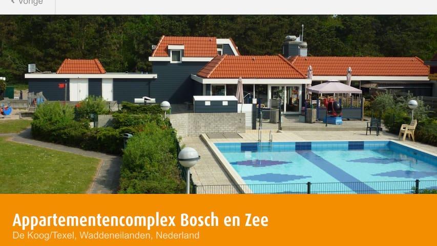 "Mooie suite  ""De Roos Alpha"" Texel"