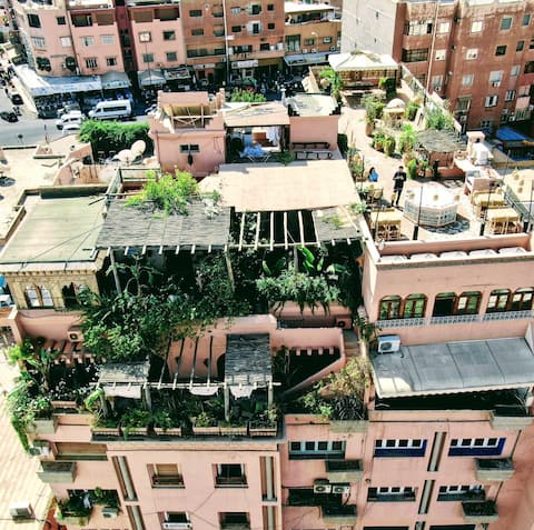 Penthouse***** Appartement (4 pax+) Guéliz Rooftop