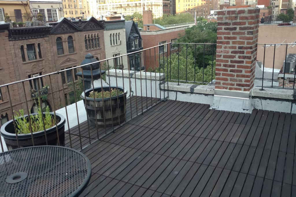 Roof Deck - West View
