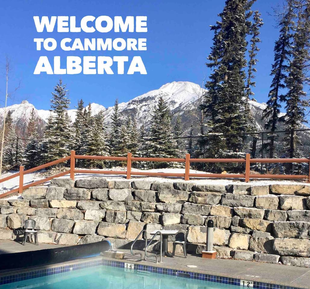 JUMP IN! It's impossible to beat the stunning view from the beautiful heated pool that is open year round!