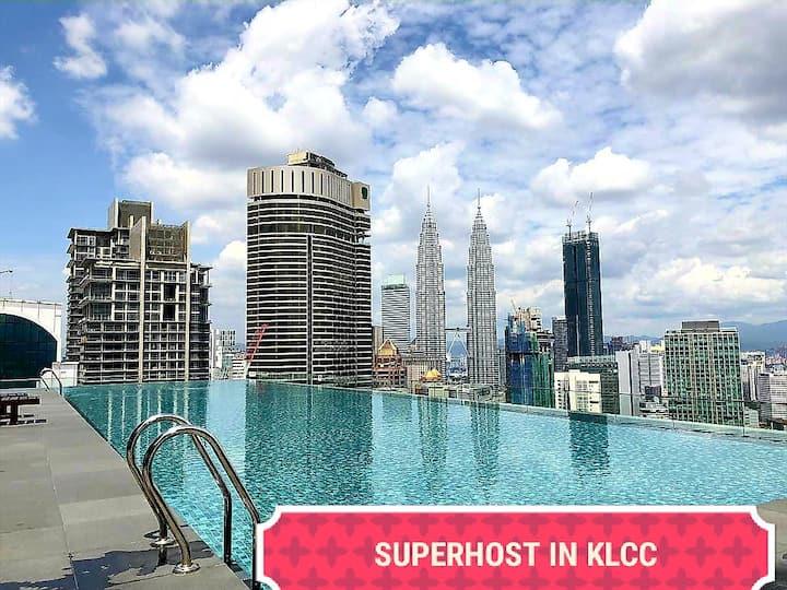 SKY POOL 3 Mins walk to Pavilion@Bukit Bintang Z2