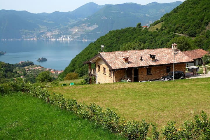 Cozy Chalet at Marone Lake Lombardy with Pool