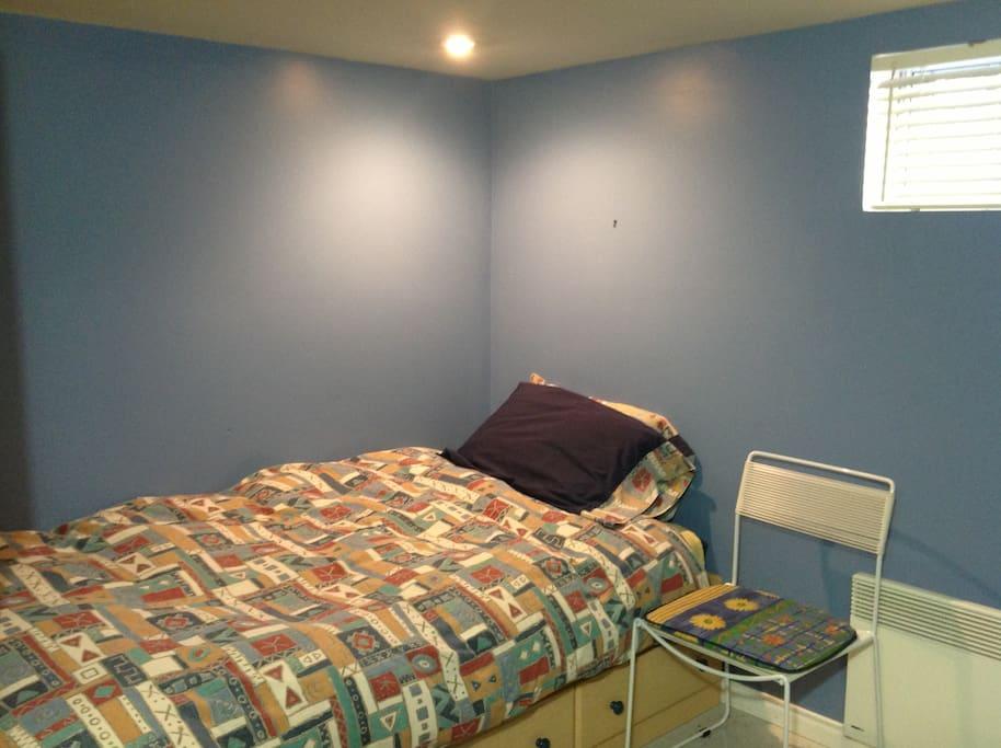 Chambre 1 - Lit simple