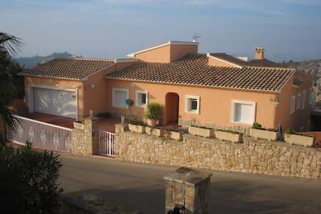 Villa with spectacular views of sea and mountains - Casa de camp