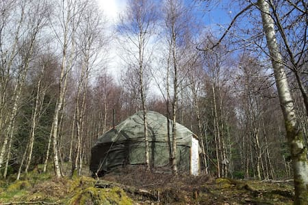 Rustic Yurt in Beautiful Woodland - Brig o'Turk - Yurt