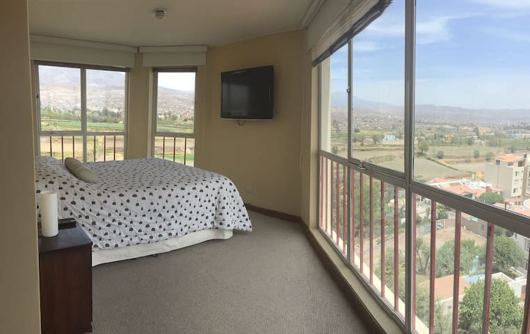 Rent apartment: Good area and excellent view. - Arequipa - Daire